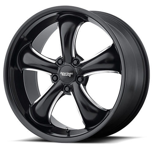 American Racing Wheels AR912 TT60 Satin Black Milled