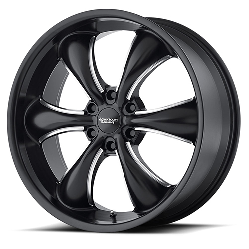 American Racing Wheels AR914 Satin Black Milled
