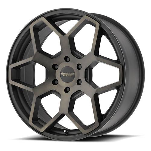 American Racing Wheels AR916 Matte Black With Dark Tint CC