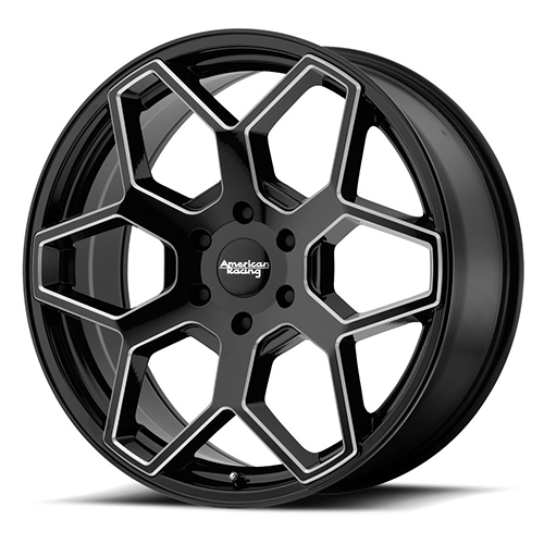 American Racing Wheels AR916 Gloss Black Milled