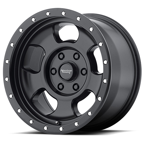 American Racing Wheels AR969 Ansen Off Road Satin Black