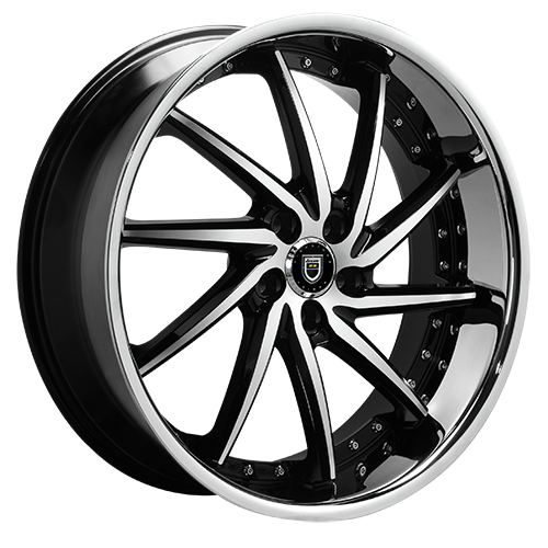 Lexani Wheels ARTEMIS Machined Face W/SS Lip