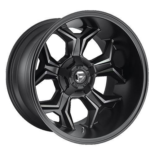 Fuel Offroad Wheels Avenger Black