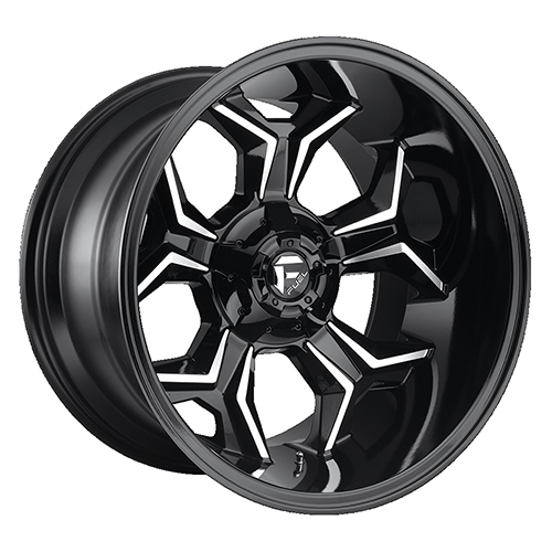 Fuel Offroad Wheels Avenger Black Machined