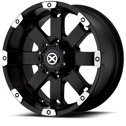 - Wheel Specials - ATX Series Wheels AX185 M-Blk/Mach