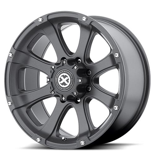 ATX Series Offroad Wheels AX188 Ledge Cast Iron Black