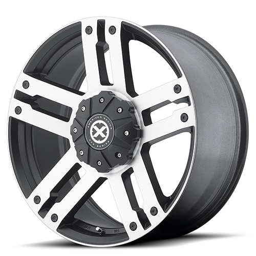 ATX Series Offroad Wheels AX190 Dune Satin Black With Machined Face