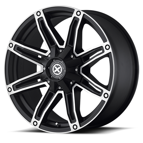 - Wheel Specials - ATX Series Wheels AX193 S-Blk/Mach