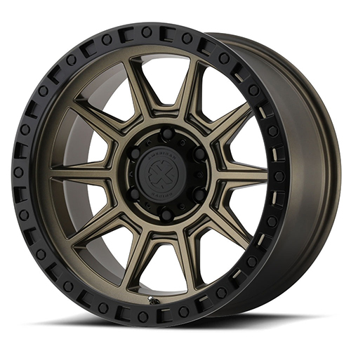 ATX Series Offroad Wheels AX202 Matte Bronze with Black Lip