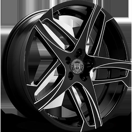 Lexani Wheels BAVARIA Machined Groove