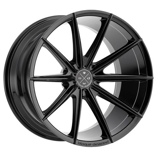Blaque Diamond Concave Wheels Blaque Diamond BD-11 Gloss Black