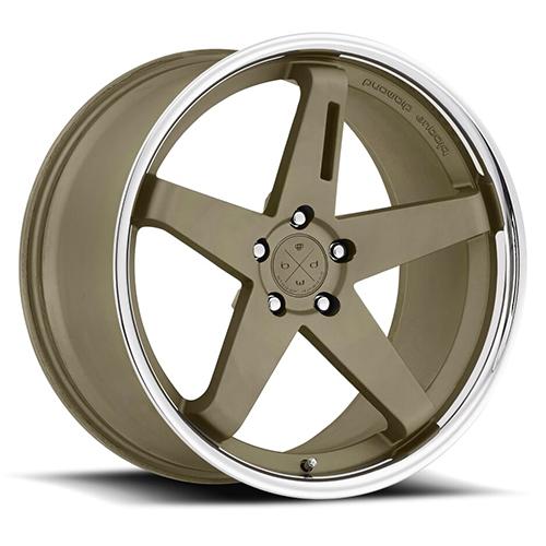 Blaque Diamond Concave Wheels Blaque Diamond BD-21 Bronze center with chrome SS lip