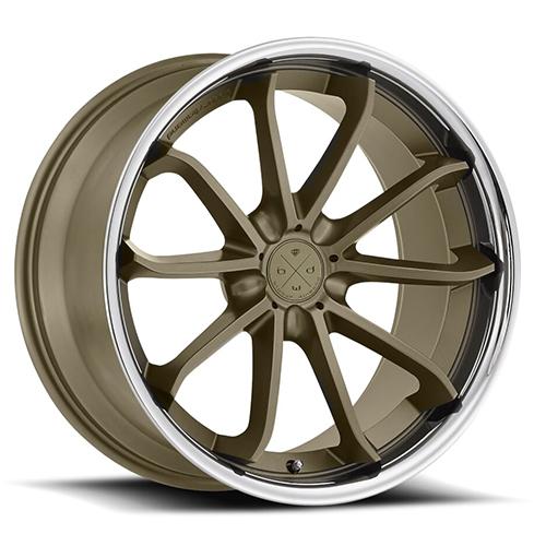 Blaque Diamond Concave Wheels Blaque Diamond BD-23 Bronze center with chrome SS lip