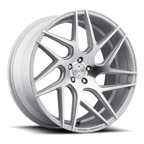 Blaque Diamond Concave Wheels Blaque Diamond BD-3 Silver with Polish Face