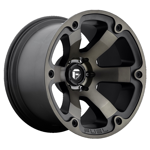 Fuel Offroad Wheels Beast Black Machined