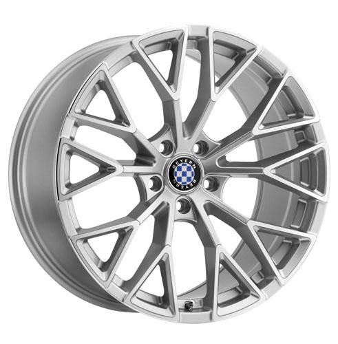 17x8 Beyern Wheels Antler Silver