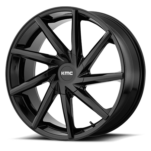 KMC Wheels Burst Gloss Black