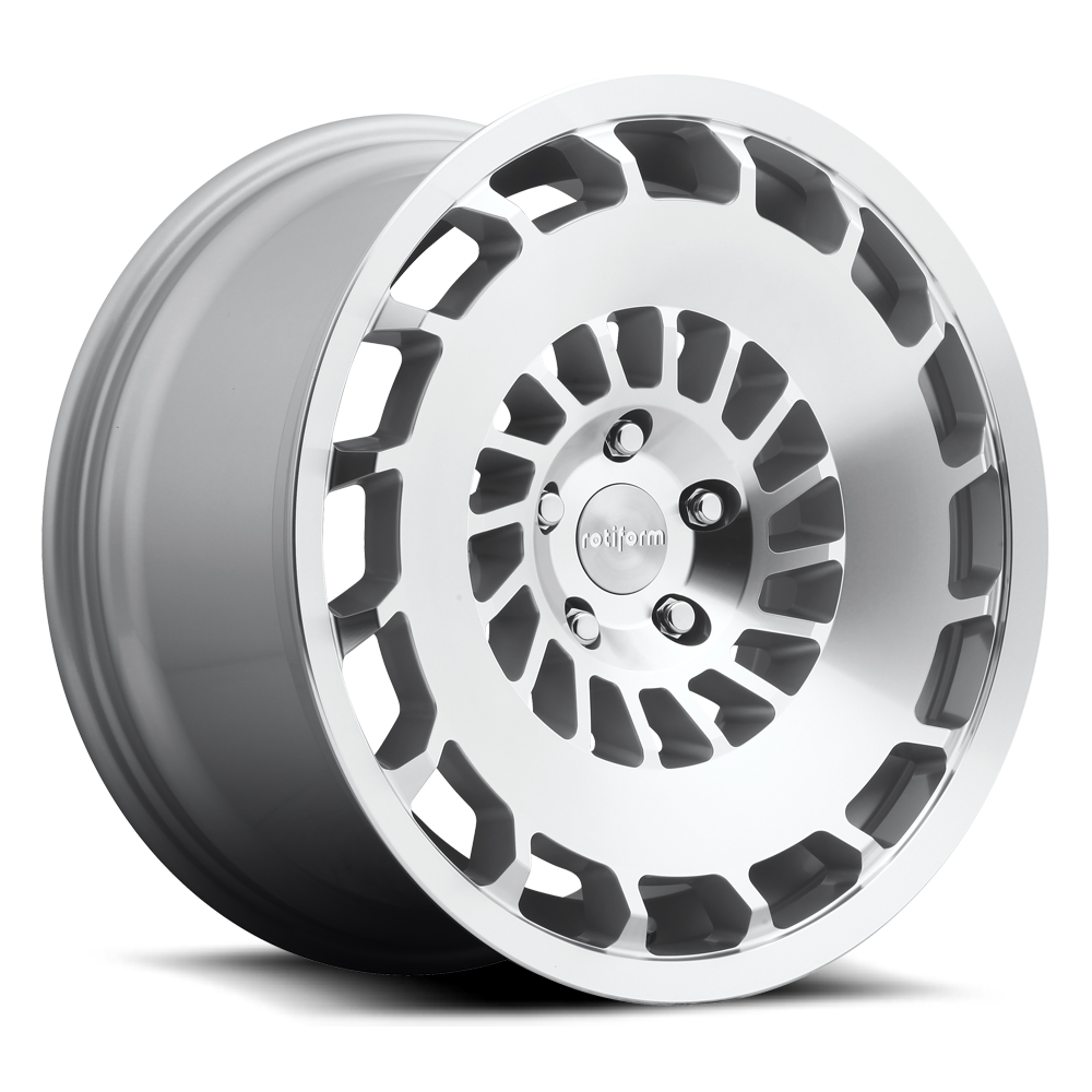 20x8.5  R135 CCV MS -Silver Machined