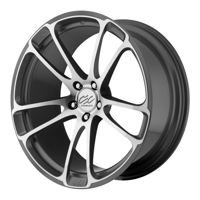 - WHEEL SPECIALS - CEC C882 Wheels Staggered 20x8.5/20x10 Silver Machined