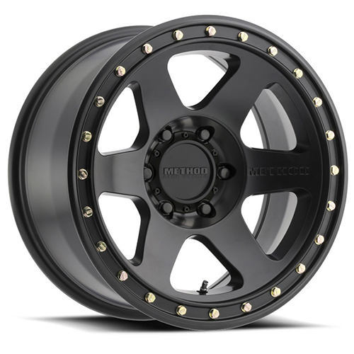 Method Race Wheels Con6 Matte Black
