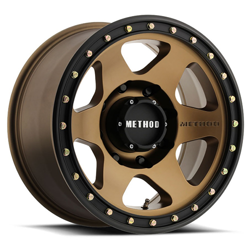 Method Race Wheels Con6 Bronze with Black Street Loc