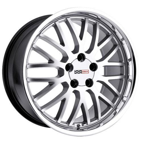 Cray Wheels Manta Silver
