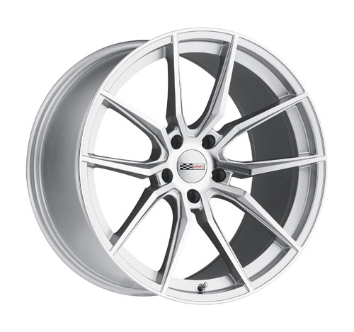 Cray Wheels Spider Silver