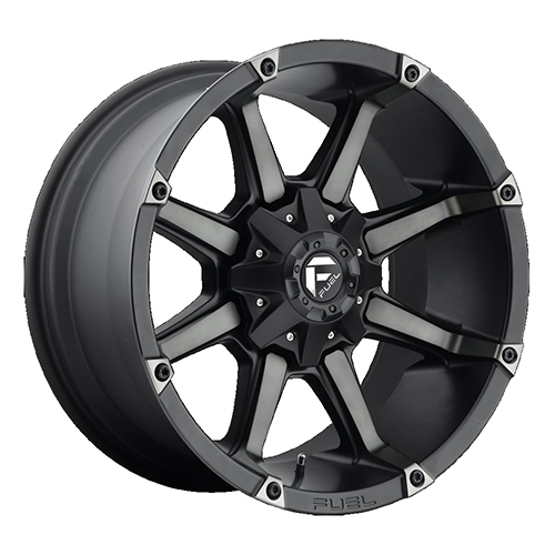 Fuel Offroad Wheels Coupler Black Machined