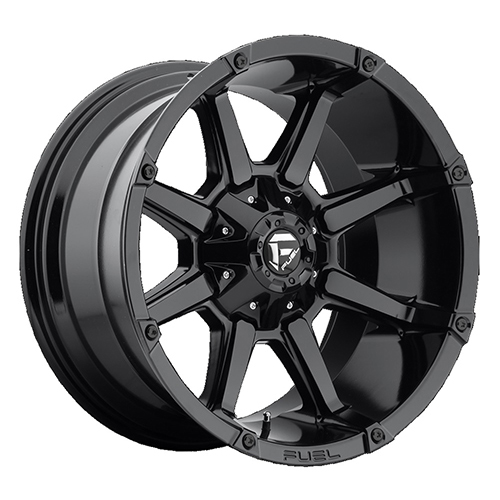Fuel Offroad Wheels Coupler Gloss Black