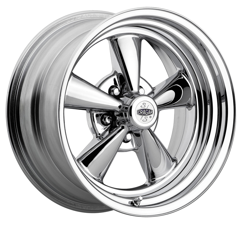 Cragar Wheels 08/61 S/S Chrome Two-Piece Composite