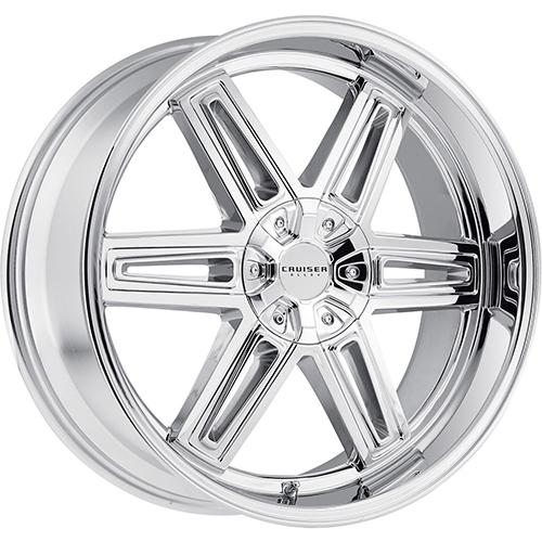 Cruiser Alloy Wheels Iconic Chrome