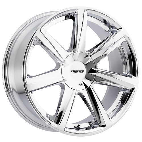 Cruiser Alloy Wheels Kinetic Chrome