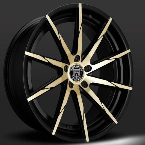 Lexani Wheels CSS15 Black & Bronze