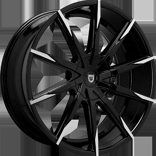 Lexani Wheels CSS15 Gloss Black