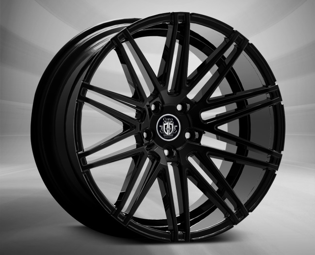- Wheel Specials - Curva Conceps Wheels Curva C48 Gloss Black