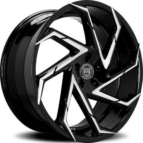 Lexani Wheels CYCLONE Machined Groove