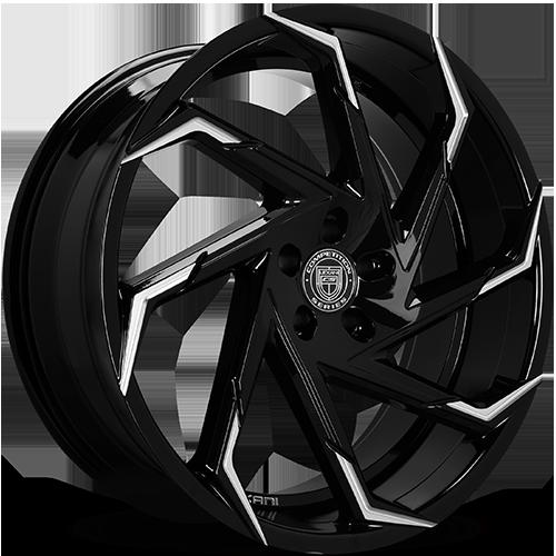 Lexani Wheels CYCLONE Machined Tips