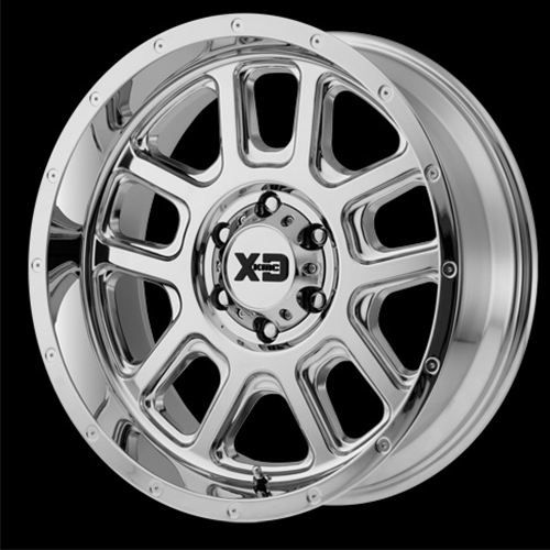 XD Series by KMC Wheels Delta Chrome