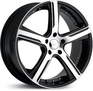 - Wheel Specials - Diamo Wheels DI037 G-Blk/Mch