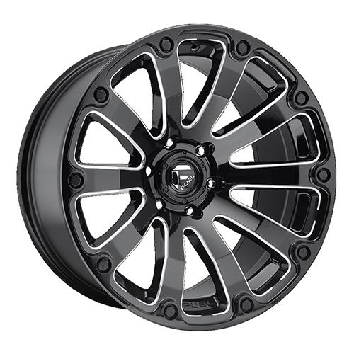 Fuel Offroad Wheels Diesel Black Milled