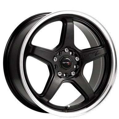 Drifz Wheels Circuit Carbon Black Machined Lip