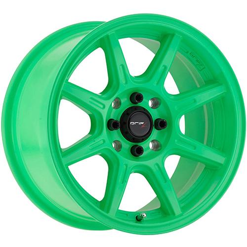 Drifz Wheels Spec-R Gloss Lime Green