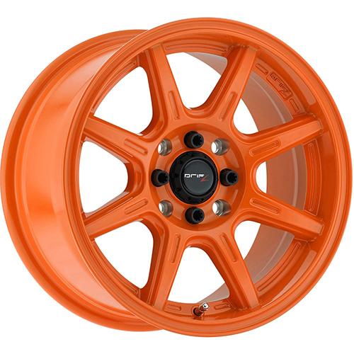 Drifz Wheels Spec-R Gloss Orange