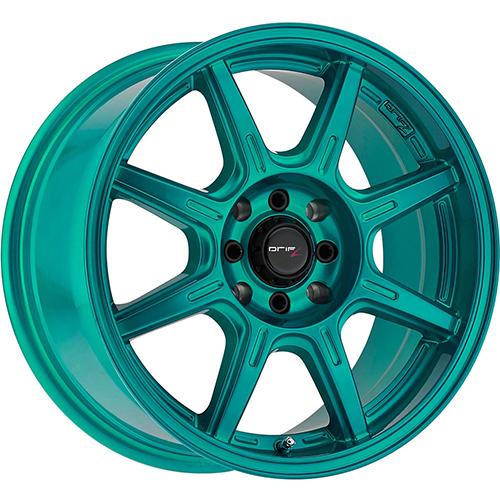 Drifz Wheels Spec-R Gloss Teal Green