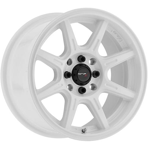 Drifz Wheels Spec-R Gloss White