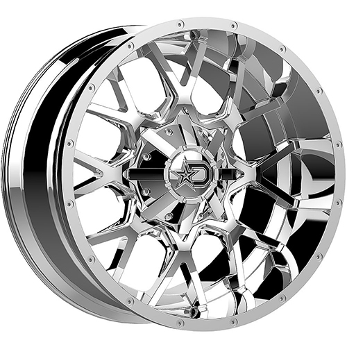 Dropstars Wheels 645C Chrome