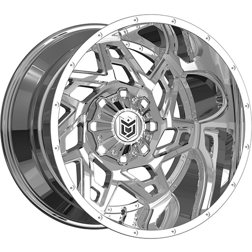 Dropstars Wheels 652V Chrome