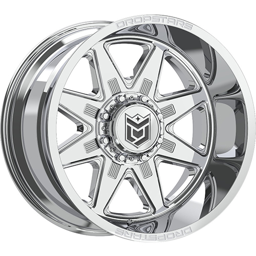 Dropstars Wheels 655V PVD Chrome