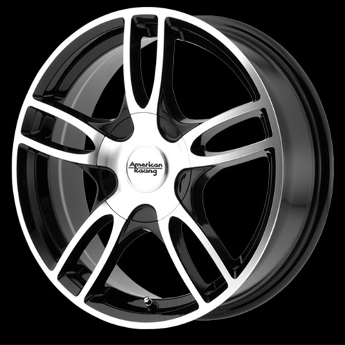 American Racing Wheels Estrella 2 Gloss Black Machined