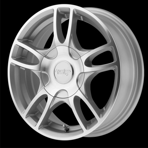 American Racing Wheels Estrella 2 Silver Machined